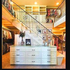 2 story closet :)