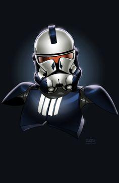 Punisher Clone Trooper by ~JonBolerjack on deviantART