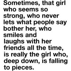 Yep... I've been that girl..sometimes I still am :p