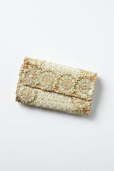 Woven Fireworks Clutch. EXTRA 20% off at Anthro!