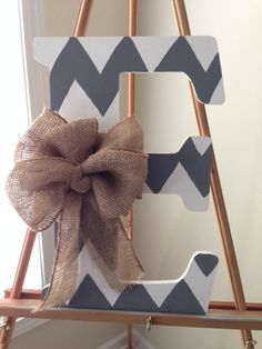 18 Hand Painted Monogram Letters by aprilmc5 on Etsy