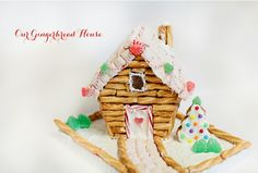 love this gingerbread house!