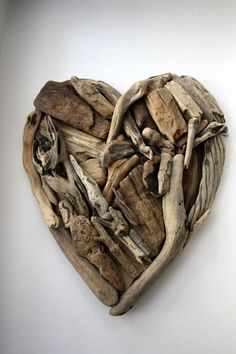 Driftwood heart by Yalos