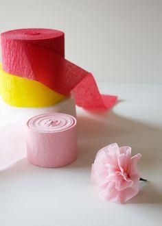 DIY: Paper Flower Escort Cards - Project Wedding