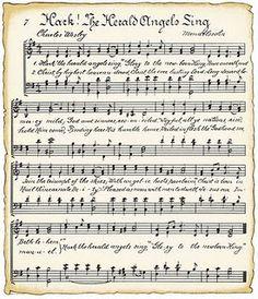 Hark the Harold angels Sing Vintage download sheet music