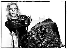 Madonna & Andrea Riseborough by Tom Munro