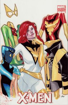 The Many Suits of Jean Grey