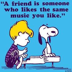 Friend Snoopy cartoon via www.Facebook.com/Snoopy