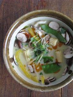 Tom Ka Soup II (The Vegan Version) | An Urban Cottage. #thai #cuisine #food #recipe