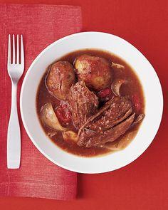 Slow cooker Italian Pot Roast - Martha Stewart Recipes