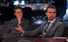 Did you catch #Shailene Woodley & Theo James on Jimmy Kimmel Live last week?