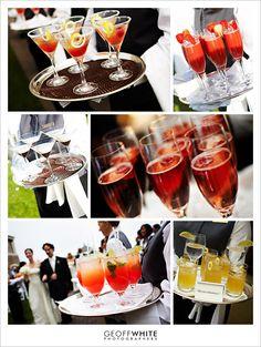 Signature Wedding Cocktails & Snacks