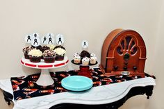 Retro Elvis Themed First Birthday Party for Kingston