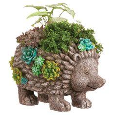 Standing Hedgehog Planter
