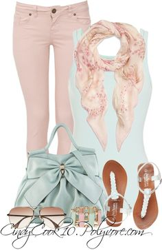 """Pastel"" by cindycook10 on Polyvore"