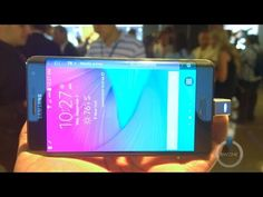 Samsung Galaxy Note Edge Hands On & First Look