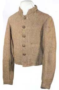 Trans-Mississippi jacket possibly worn by a member of the 3rd Louisiana Inf.