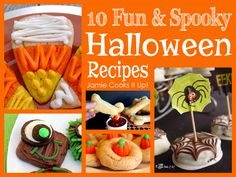 Halloween Recipes from Jamie Cooks It Up!