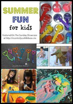 summer fun activities, crafts & play ideas for kids
