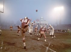Washington Redskins vs. Baltimore Colts, 1964.