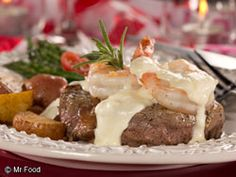 Simple Surf 'n' Turf - A restaurant-fancy meal made easy