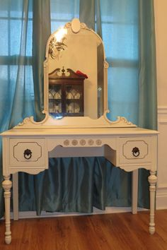 Chrissie's Collection - Custom Painted Furniture. Vanity dresser is cream sold