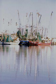 shrimp boats at St. Joe