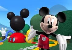 Mickey mouse clubhouse to compare cake to