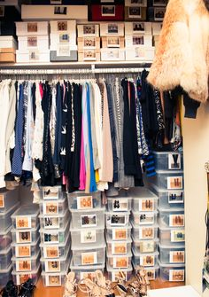 This is what a #Valentino PR girl's closet looks like. Ready. Set. Drool: http://www.thecoveteur.com/katie-goodwin-valentino/