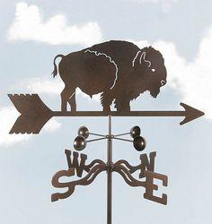 Bison weathervane...