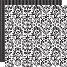 Doodlebug Design - Classic Collection - 12 x 12 Double Sided Paper - Cascading Floral at Scrapbook.com $1.09