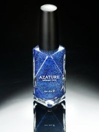 Azature  -  Black Diamond Nail Polish - Blue