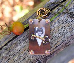 Gorgeous OOAK family keepsake necklace.