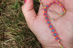DIY:  Diamond Friendship Bracelets
