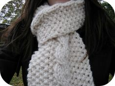Scarf to knit