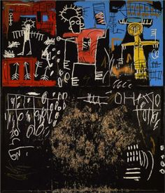 Black tar and feathers - Basquiat