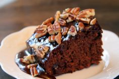 Coca-Cola Cake: a Southern classic, but in this recipe you melt the marshmallows first.  Interesting...