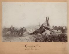 Mining scene, Cherokee County, Kansas A photograph of the Crown Point mine in Cherokee County, Kansas. Date: Between 1880 and 1910