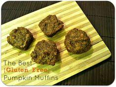 The Best {Gluten Free} Pumpkin Muffins