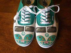 OMGG VW shoes! #kombilove
