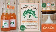Dinosaurier Fossil Hunt Dino Dig druckbare Set  von HHpaperCO, $30.00