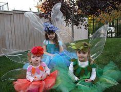 Handmade Dress Up: DIY No Sew Iridescent Fairy Wings Tutorial