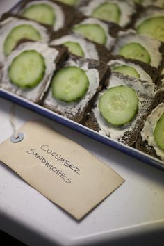 Cute as a button themed baby shower - sandwiches