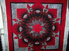 Summer Solstice ~ Quiltworx.com, made by (unknown), quilted by Sculptured Threads Quilting
