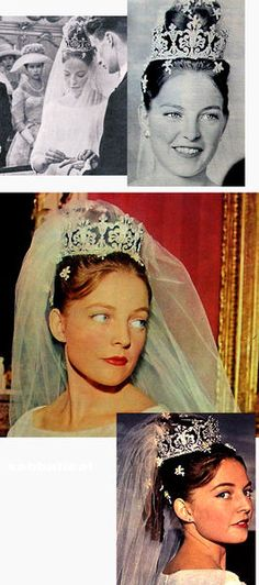 Diane of Orléans, daughter of the Count of Paris, the Orléanist claimant to the French throne and his wife, a brazilian princess, married on 21 July 1960  Carl, Duke of Württemberg.