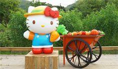 Hello Kitty Organic Farm in Hong Kong
