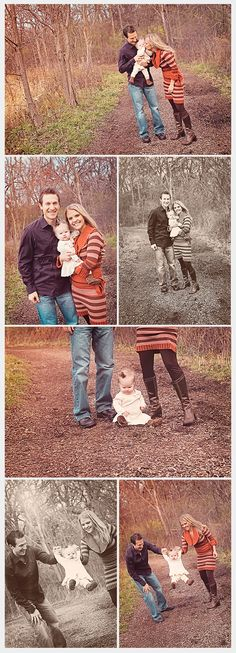 Fall Family Photos Outdoors - Deanne Mroz Photography