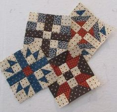 so cute! idea, quiltblock, color, miniature quilts, hampton ridg, miniatur quilt, miniature quilt blocks, mini block, big day