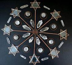 Crystal Mandala by Crystal Healing Art