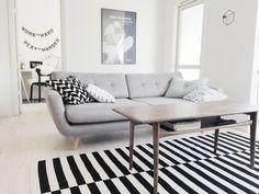 Living room via Homesick blog.